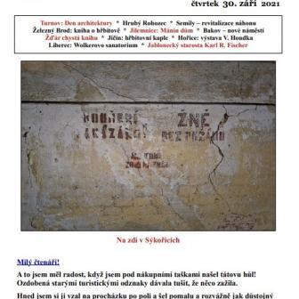 Trosečník 39 - aneb co se děje kolem Trosek v Českém Ráji a okolí